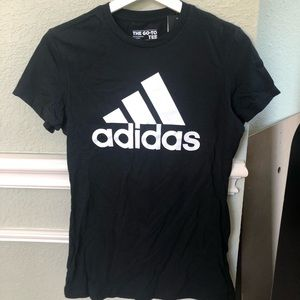 NWT Women's Adidas The Go-To Tee T-Shirt Size S